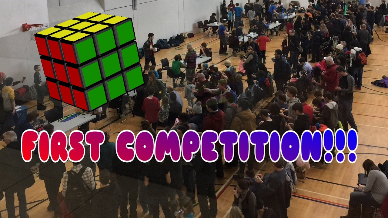 Rubik's Cube Montreal My First Rubik S Cube Competition