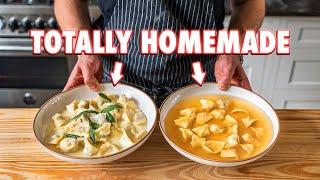 Perfect Homemade Tortellini (2 Ways)