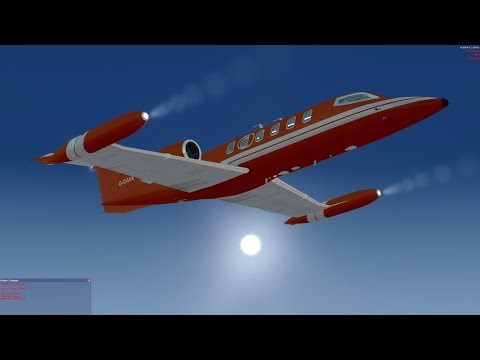 Flysimware Learjet 35a with a Crew