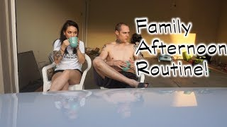 Spring/Summer Afternoon Routine| Family of 5| how we spend quality time