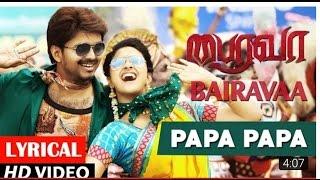 Download Hindi Video Songs - Bhairava Papa Papa Full Video Song   Ilayathalpathy Vijay   Keerthy Suresh Full HD.