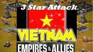 Empires & Allies Mobile - Vietnam 3 Star