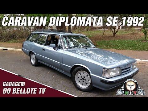 Acelerando a Caravan Diplomata SE 1992 | Garagem do Bellote TV