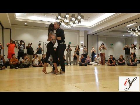 Isabelle and Felicien Kizomba demo – NeoKiz Festival 2016 – Austin USA