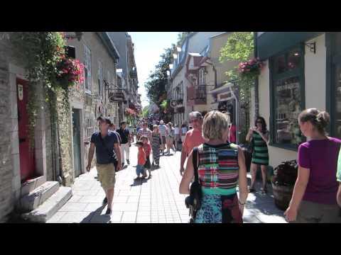 Vieux Québec Ville de Québec / Old Quebec in Quebec City Canada