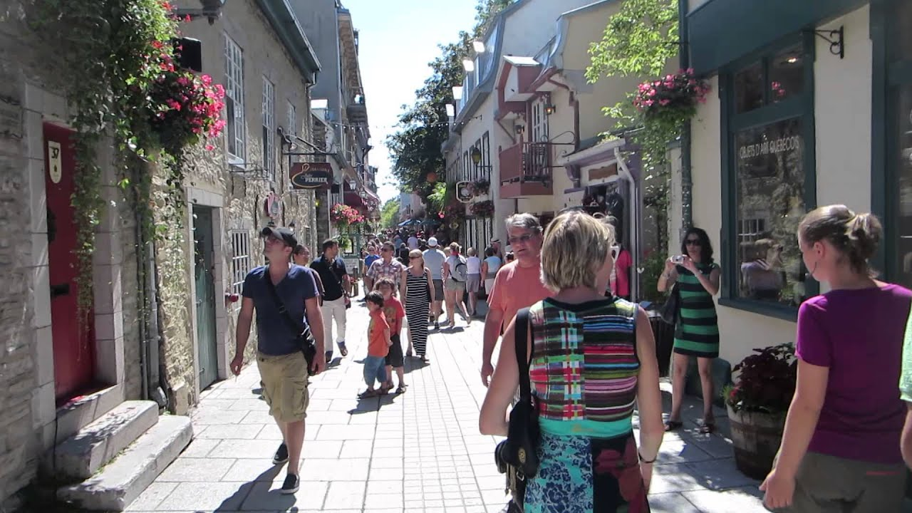 Vieux Qubec Ville de Qubec  Old Quebec in Quebec City Canada  YouTube