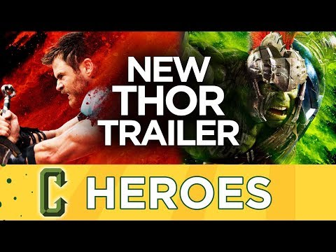 New Thor: Ragnorak Trailer Released - Heroes