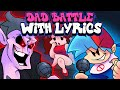 Dad Battle WITH LYRICS By RecD - Friday Night Funkin' THE MUSICAL (Lyrical Cover)