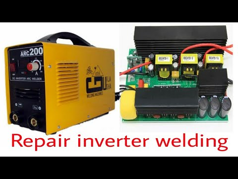 Inverter arc welding machine repair part 1
