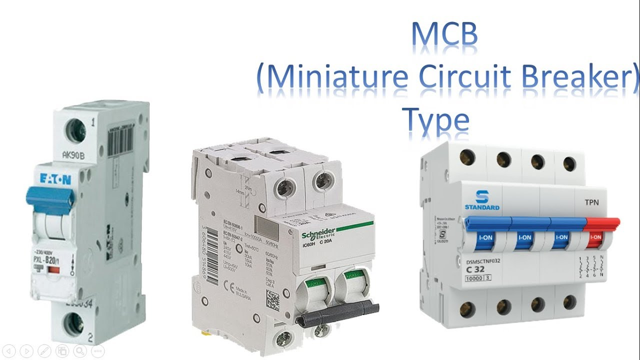 mcb type circuit breaker | type MCB by earthbondhon - YouTube