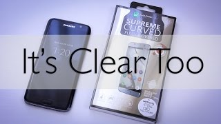 The First *Clear* Fullscreen Tempered Glass Screen Protector - Samsung Galaxy s7 edge - Part I