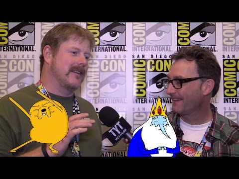 Adventure Time! With John DiMaggio Jake and Tom Kenny Ice King