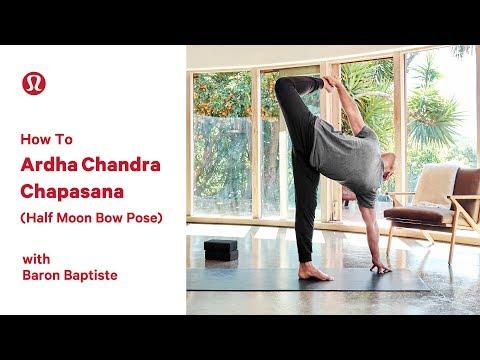 How To Half Moon Pose (Ardha Chandrasana) with Baron Baptiste I lululemon