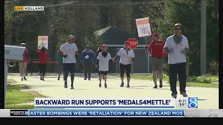 'Backward Mile' aimed at inspiring those fighting illness