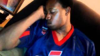 Man sleeping hard