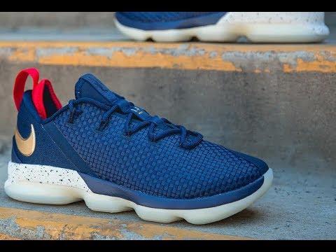 7021cf668eed4 FIRST LOOK: Nike Lebron 14 Low 'Deep Royal' | SHIEKH - YouTube