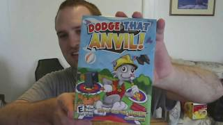 Update & Unboxing a Physical Copy of Dodge That Anvil! from the Game Creator Himself!