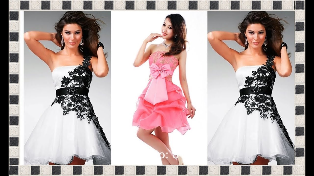 2d5b26727 VESTIDOS DE FIESTA CORTOS Y ELEGANTES. Moda para Chicas