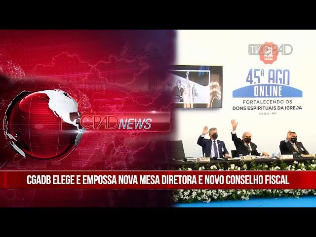 Boletim Semanal de Notícias - CPAD News 206
