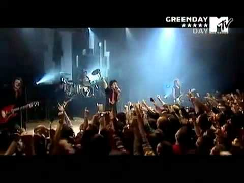 Green Day MTV Live in Italy 2005 FULL