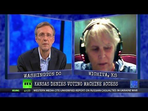 Something Very Very Wrong w/Voting Machines in KS?