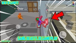 Gang Beasts + NEW IO GAME = Noodleman.io (World Record Gameplay) Party Mobile Game  Funny Moments!
