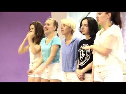K-pop Cover Dance in Russia behind the scenes with Mo.t.VE