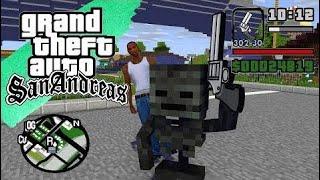 Minecraft Kingdom | مدرسة الوحش - Gta سان أندرياس فيلم كامل - الرسوم المتحركة ماين كرافت  # 129