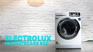 Trên tay máy giặt Electrolux UltimateCare 500