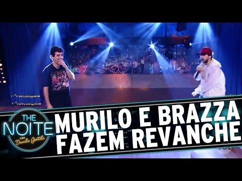 The Noite (25/10/16) - Murilo E Brazza Fazem Revanche Em Batalha De Rap