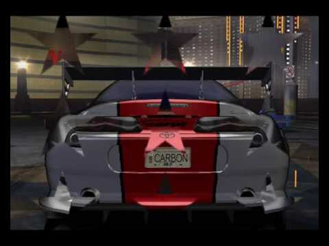 Need For Speed Carbon Tuner Cars List 1 Youtube
