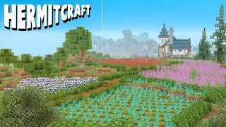 We Flattened Huge Mountains! :: Hermitcraft 7