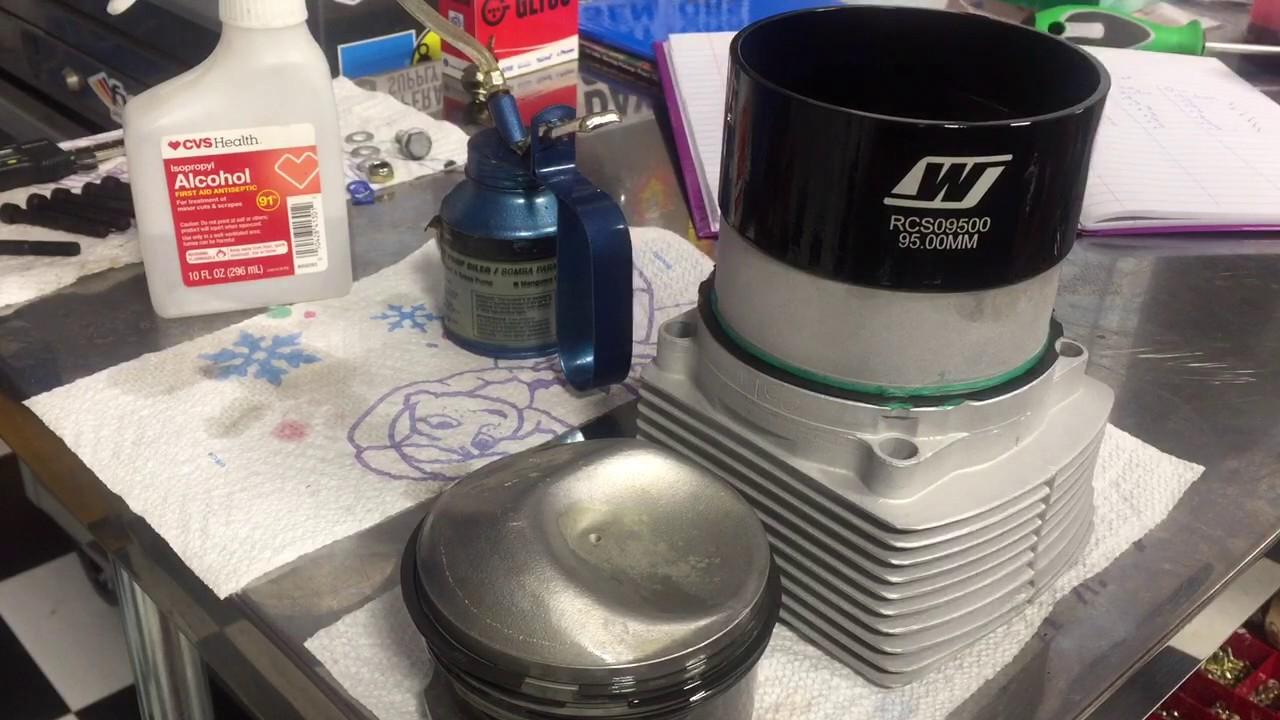 Porsche Ring Compressor - YouTube for Piston Ring Clamp  174mzq
