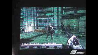 Coded Arms Sony PSP Gameplay - TGS 2004: Gameplay footage