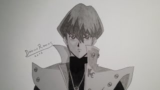 How to draw Seto Kaiba | speed drawing