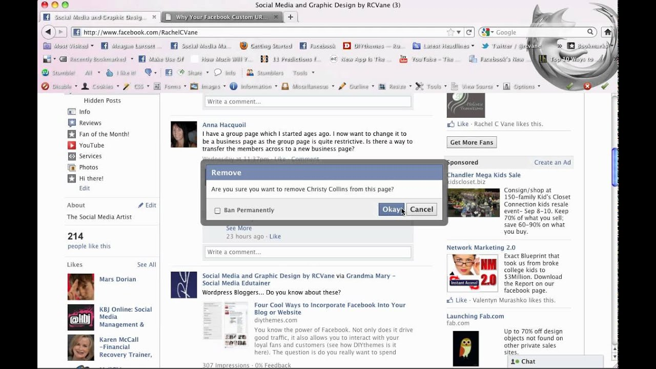 Ban-Block a User from Your Facebook Business Page mp4