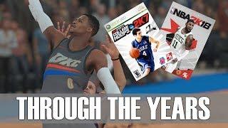 RUSSELL WESTBROOK THROUGH THE YEARS - COLLEGE HOOPS 2K7 - NBA 2K18