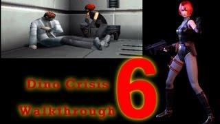 Dino Crisis Walkthrough Part 6 - PS1 - HD - B1 Key Chip, Key Card R, DDK ENERGY!