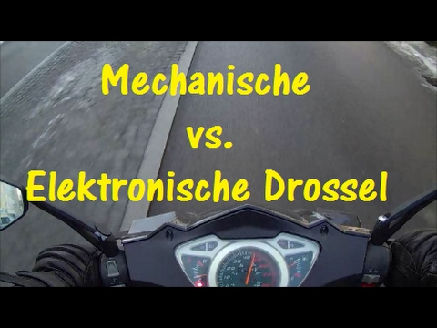 roller drosseln mechanisch vs elektronisch youtube