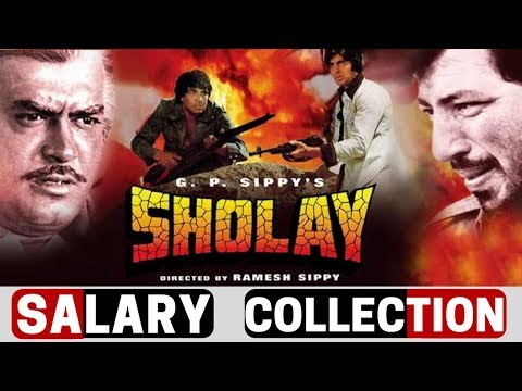 Sholay Actors Salary, Budget, Collection  The Film that changed Bollywood Forever