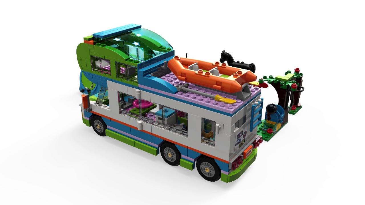 Lego Friends Mias Camper Van 41339 Youtube
