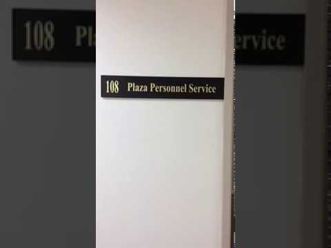 Plaza Personnel Service - Virtual tour of our office