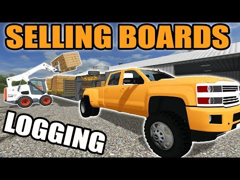 FARMING SIMULATOR 2017 | LOADING UP LUMBER FROM THE MILL | MULTIPLAYER WISCONSIN LOGGING | EP #3