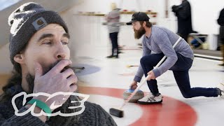 A Day at Canada's First Weed Curling Tournament
