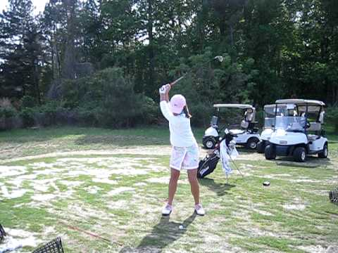 Joanna Saleeby Golf Swing 4-19-2010 (Clip#3)