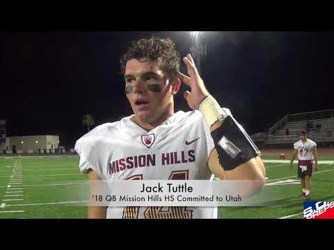 SanDiegoPrepsTV-- Utah signee Jack Tuttle