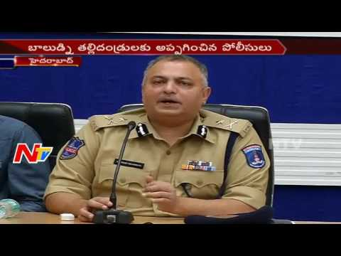 Cyberabad Police Commissioner Face to Face over Boy Kidnap Case || NTV