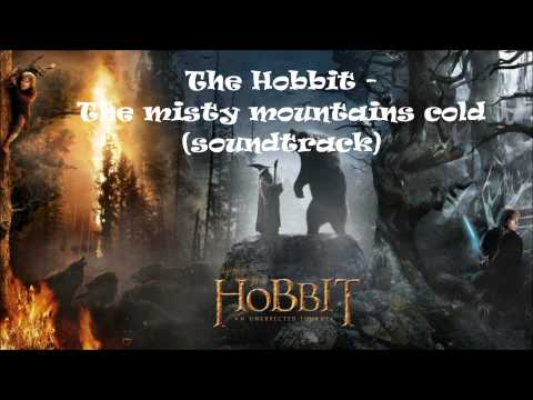 The Hobbit - The misty mountains cold (soundtrack) + download in description