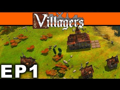 Let's Play Villagers Ep 1 - Villagers gameplay Tutorial