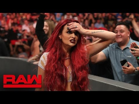 Maria Kanellis claims she is pregnant during Mixed Tag Team Match: Raw, July 1, 2019